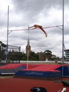 Pole Vault at the Rawlinson