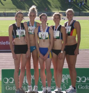 Medallists, High Jump
