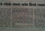 University athletics club men win first round at Aberfeldie