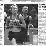 Scarlett runs for Victoria