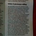 White Train keeps rolling