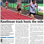 Rawlinson Track hosts the mile