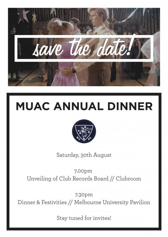 MUAC dinner