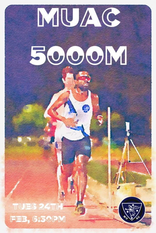 5000m poster