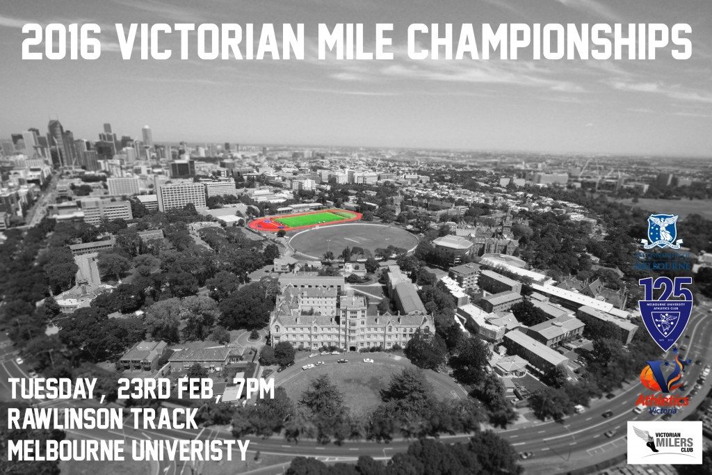 2016 vic mile champs poster
