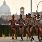 Lamble leads Australian team to silver in Rome