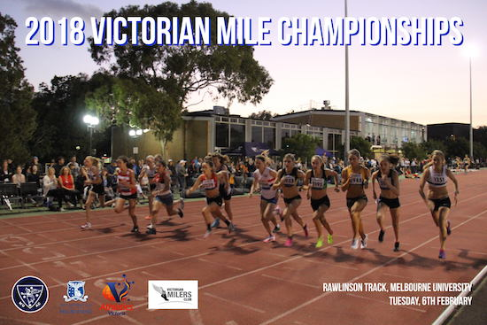2018 vic mile champs poster web